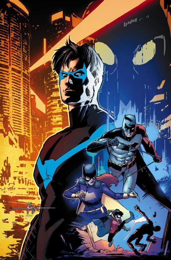 Portada de Nightwing #1, obra de Javier Fernández