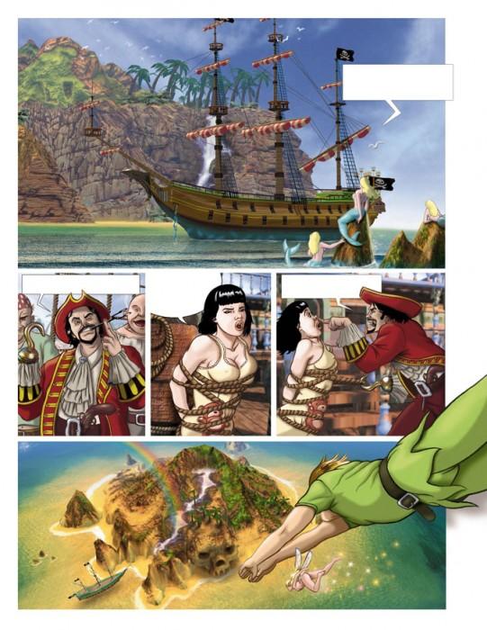 Peter Pan de Paco Roca en Kiss Comix