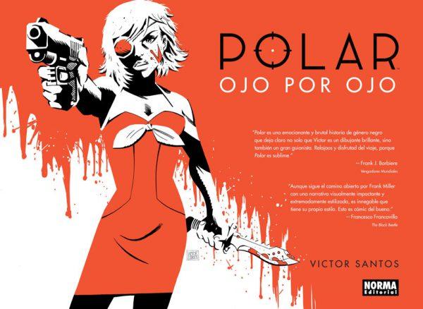 Portada del segundo volumen de Polar de Victor Santos.