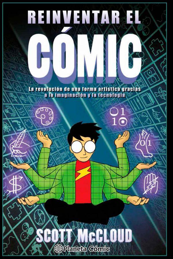 Portada de Reinventar el cómic de Scott McCloud