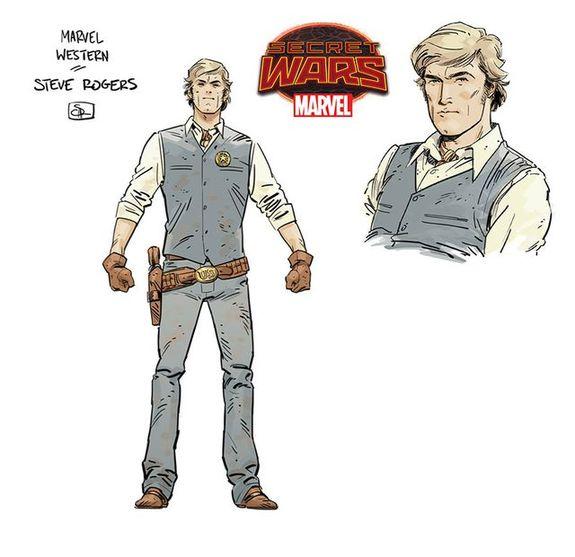 Diseño del Sheriff Rogers, de Evan Shaner