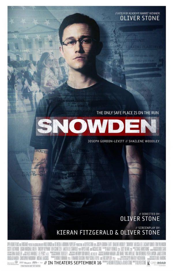 Póster de Snowden
