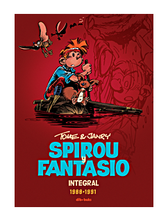 Spirou y Fantasio Integral 15. Tome y Janry 1988-1991