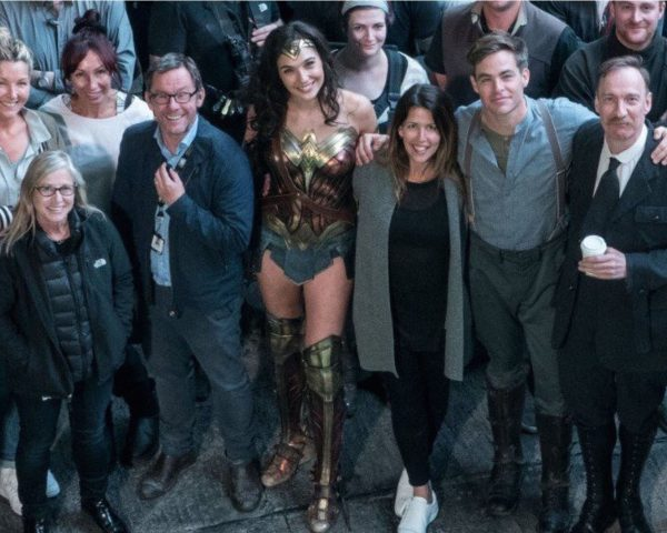 El equipo de Wonder Woman