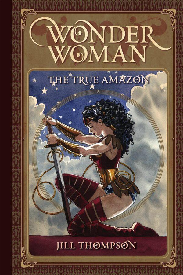 Portada de Wonder Woman: The True Amazon, obra de Jill Thompson
