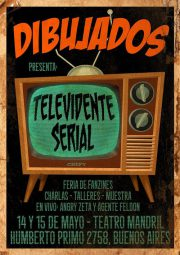 afiche_Dibujados_televidente_Serial