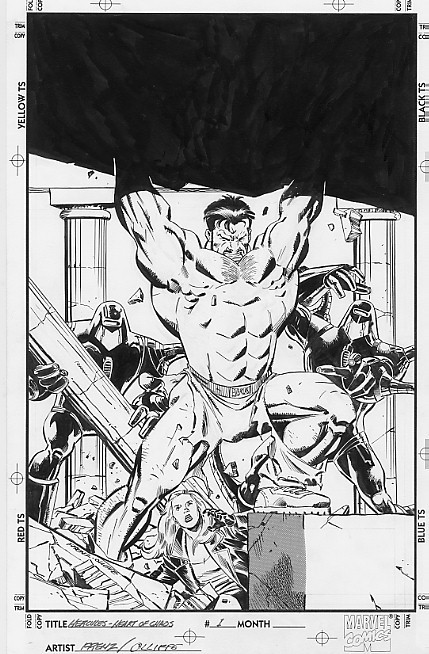 Hércules, por Ron Frenz y Steve Oliffe