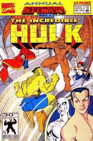 El especial de Hulk, por Kevin Maguire