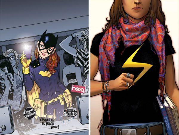 Las superheroinas tendrán un papel destacado este año
