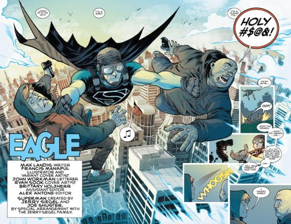 Interiores de Superman: American Alien #5, obra de Francis Manapul