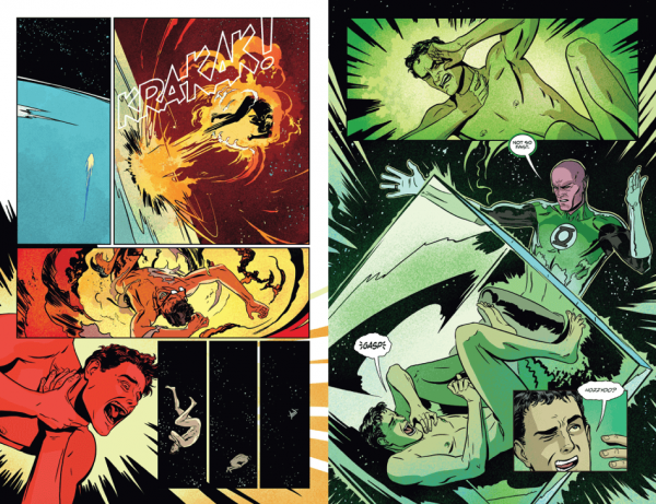 Interiores de Superman: American Alien #6, obra de Jonathan Case