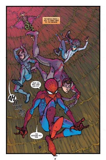 Cuando Spiderman aún no era mundial, también se relacionaba con gente muy diversa y superpoderosa