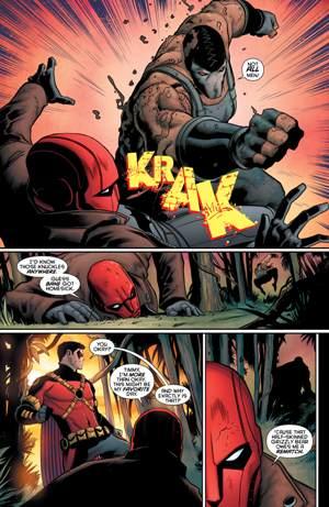 Capucha Roja y Red Robin tendrán que enfrentarse a Bane en estos números