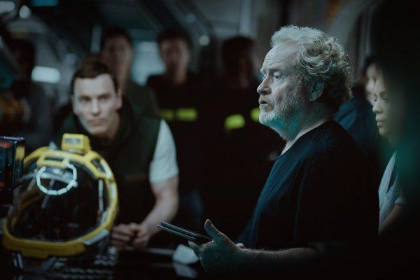 Nueva imagen desde el rodaje de Alien: Covenant