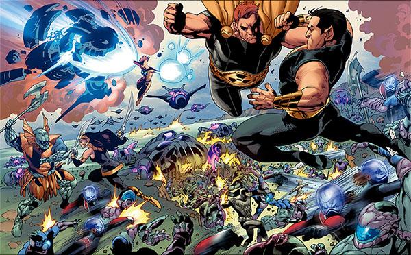 Batalla campal contra Namor, Attuma y los guerreros de Atlantis: ha llegado el momento de las represalias