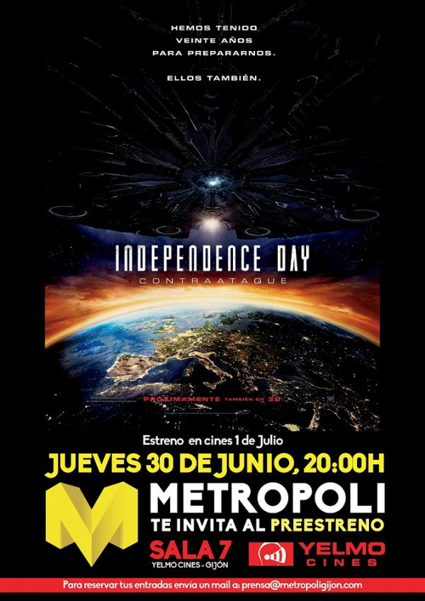 Metropoli Independence Day II