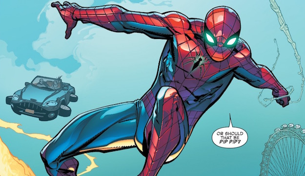 El nuevo uniforme para el mejorado Spiderman, clásico pero a la vez moderno