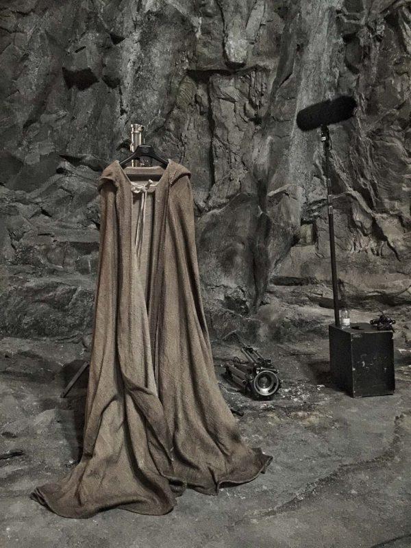 ¿La túnica de Luke Skywalker?