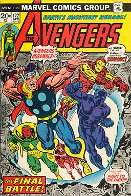 Steve Englehart Avengers 3