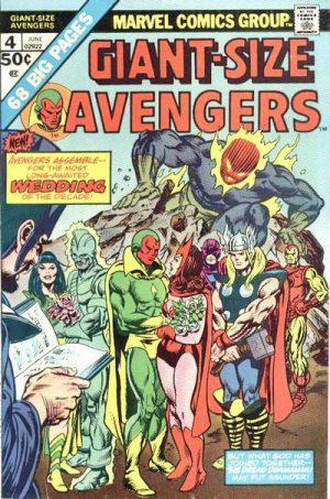 Steve Englehart Avengers 4