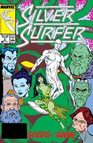 Steve Englehart Silver Sufer 1
