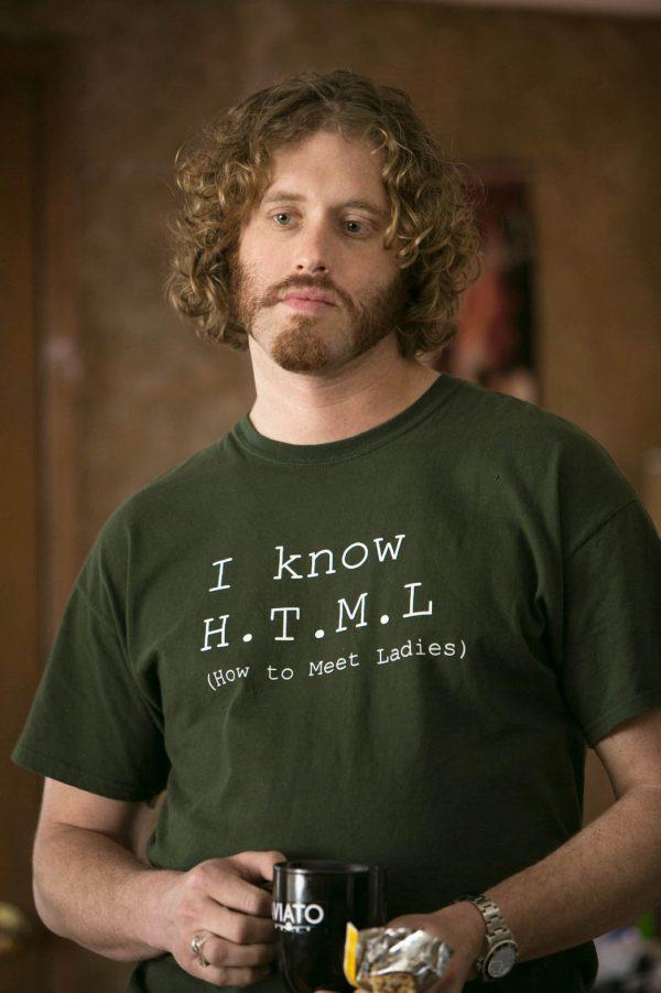T.J. Miller y sus geniales camisetas en Silicon Valley