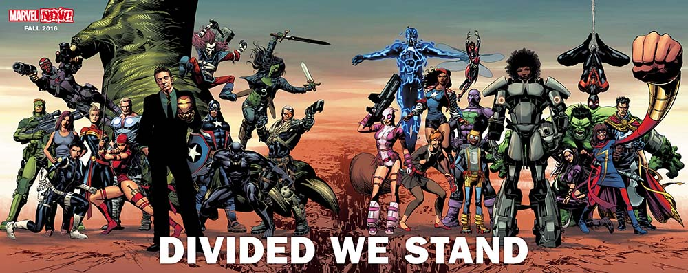 Marvel Now Divided We Stand