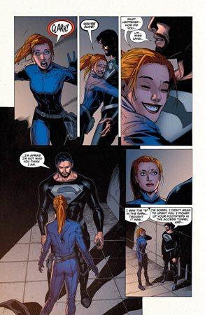 Lana no es consciente de que éste no es el Clark Kent que ella cree