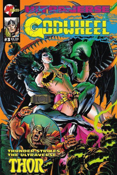 Primera portada del tercer número de la miniserie