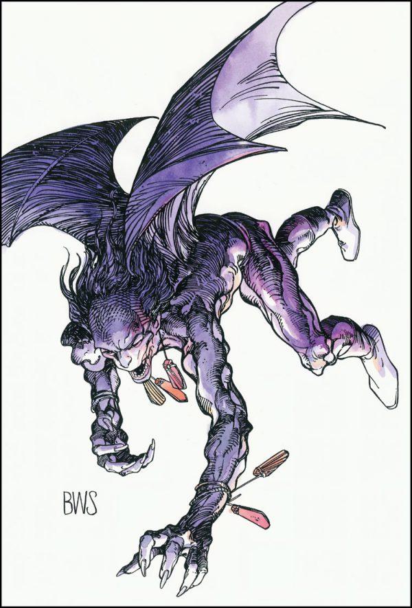 El vampiro alienígena, por su creador gráfico