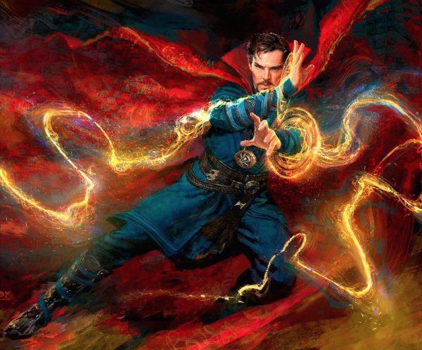 Concept-art de Doctor Strange