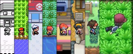 Evolución gráfica de Pokémon a lo largo de las ya estrenadas seis Generaciones, de Game Boy a Nintendo 3DS