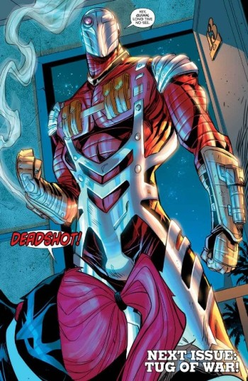 Reencuentro entre Deadshot y Harley
