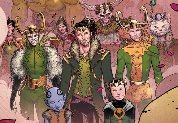 En este volumen tenemos versiones de Loki para todos y para todas