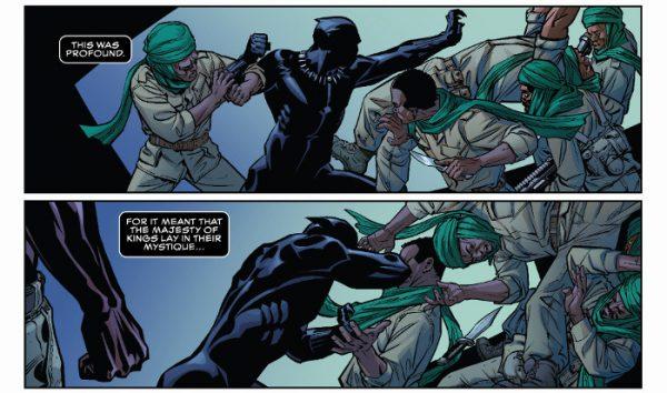 Pantera Negra en acción
