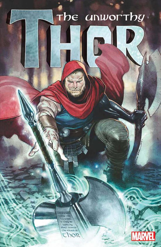Portada de Unworthy Thor #1
