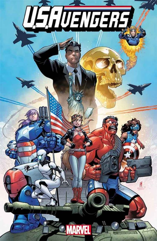 Portada de U.S.Avengers