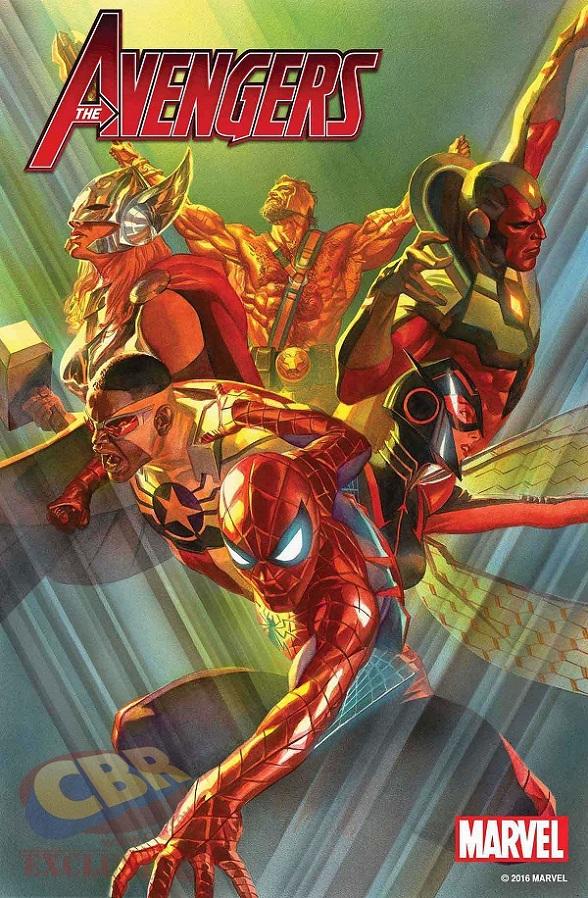 Avegengers Alex Ross Marvel Comics
