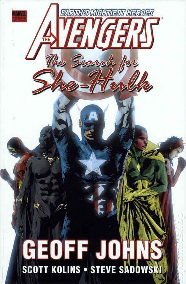 Avengers 76 Geoff Johns Marvel Comics