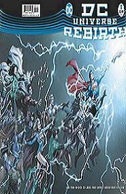 Portada y contraportada de Dc Universe: Rebirth. 2ª edición