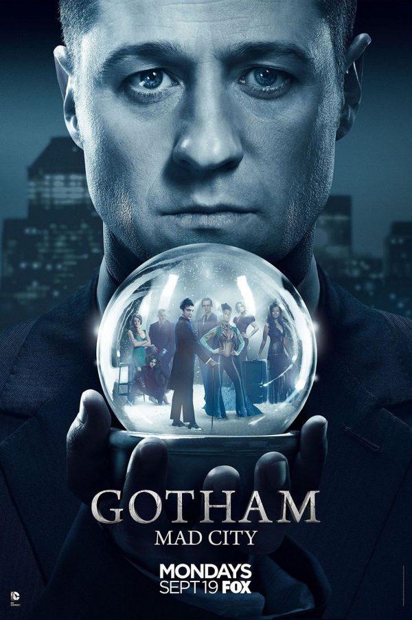 Póster de la tercera temporada de Gotham
