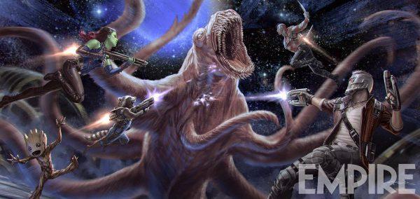 Nuevo concept-art de Guardianes de la Galaxia Vol. 2