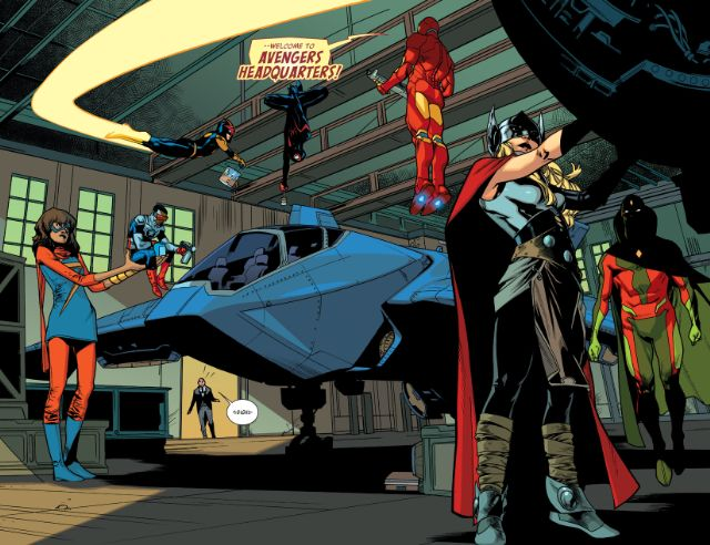 De momento, mejor vamos olvidándonos del glamour clásico de los Vengadores