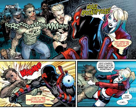 Harley vs Zombies