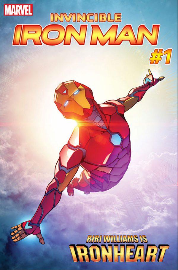 Iron Man Iron Heart Riri Williams