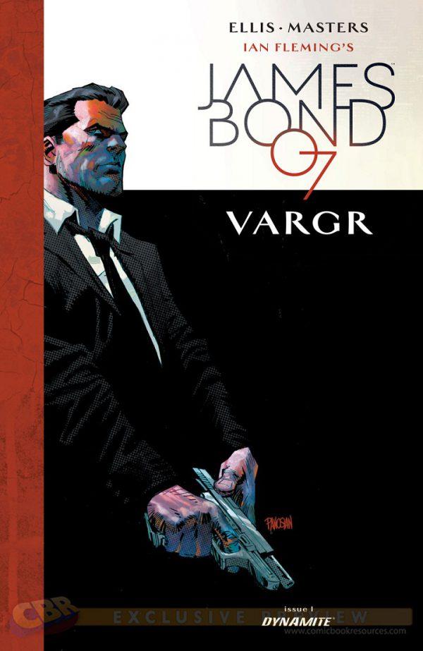 James Bond Panini Warren Ellis