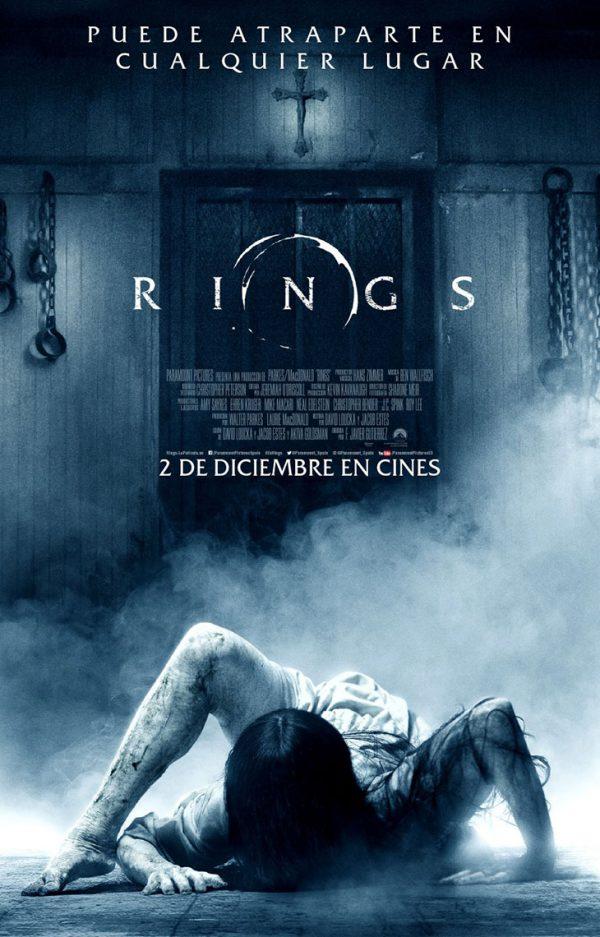 Póster español de Rings