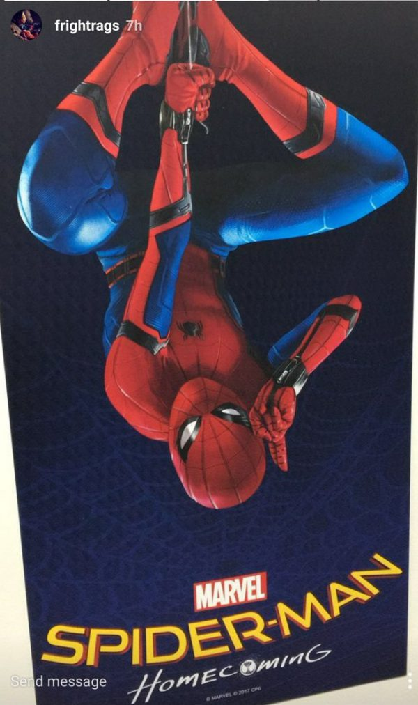 Posible primer póster de Spiderman: Homecoming