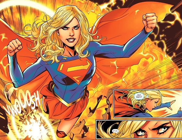 Supergirl + Emanuela Lupacchino siempre es una combinación ganadora