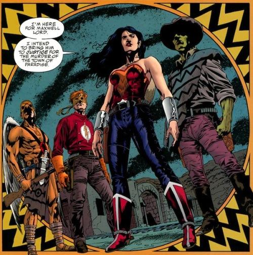 Los miembros de esta curiosa Liga de la Justicia